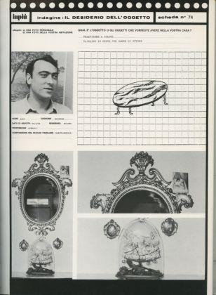 Ugo La Pietra, Il desiderio dell'oggetto, 1973