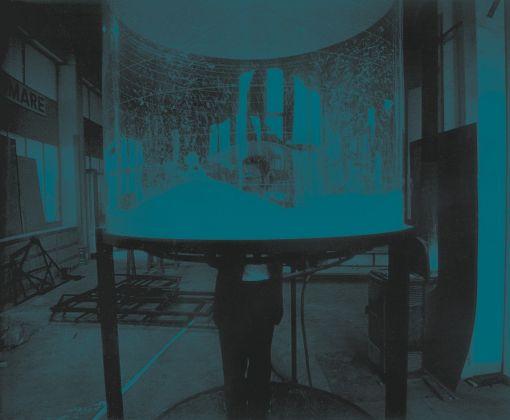 Ugo La Pietra, Immersione nel turbine, 1968. Courtesy Archivio Ugo La Pietra Milano