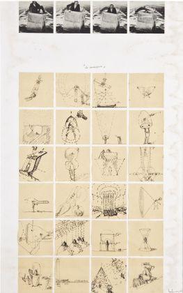 Ugo La Pietra, Immersioni, foglio di progetto, 1968. Courtesy Archivio Ugo La Pietra, Milano