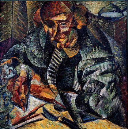 Umberto Boccioni, Antigrazioso, 1913, New York, The Metropolitan Museum of Art. Photocredit Archivio Scala Group 2016