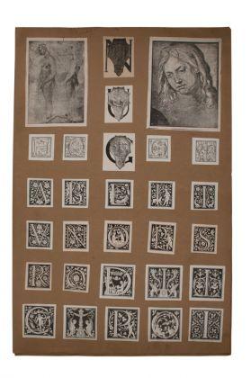 Umberto Boccioni, Atlante delle immagini 1, 1895-1909, tav. A2r. Verona, Biblioteca Civica, Fondo Callegari-Boccioni