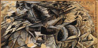 Umberto Boccioni, Carica di lanceri, 1915, Milano, Museo del Novecento, Collezione Jucker