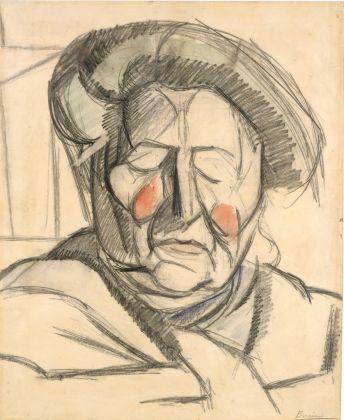 Umberto Boccioni, La madre dell'artista, 1915, New York, The Metropolitan Museum of Art