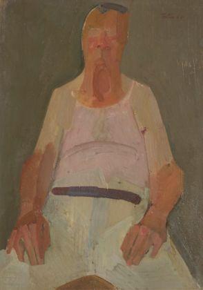 Umberto Folli, Ritratto del padre, 1965, Imola, Collezione Anna Folli
