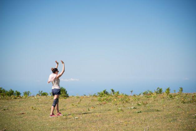 Virginia Zanetti, I Pilastri della Terra (foto Diego Mazzei)