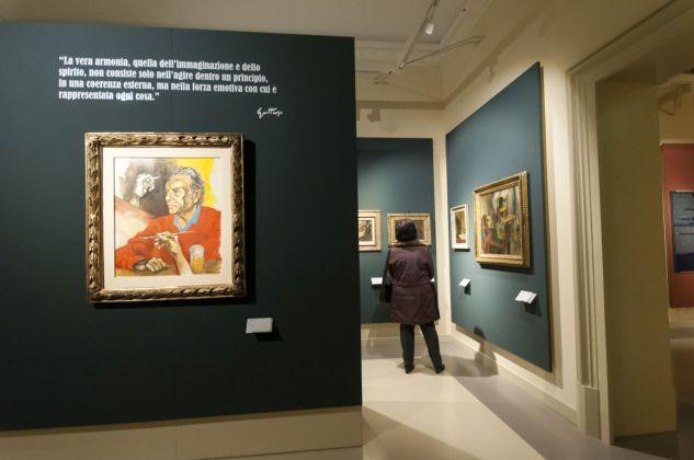 L'inaugurazione del Museo Guttuso a Bagheria (foto Desirée Maida)