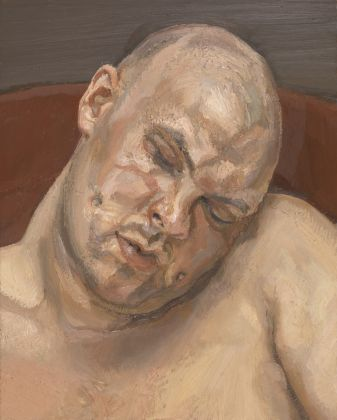 Lucian Freud (1922 - 2011) Leigh Bowery 1991 Oil paint on canvas 51 x 40.9 cm Tate: Presented anonymously 1994 © The Lucian Freud Archive/Bridgeman Images