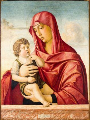 Giovanni Bellini (Venezia, 1430 circa-1516) Madonna con il Bambino 1470 Tempera su tavola,