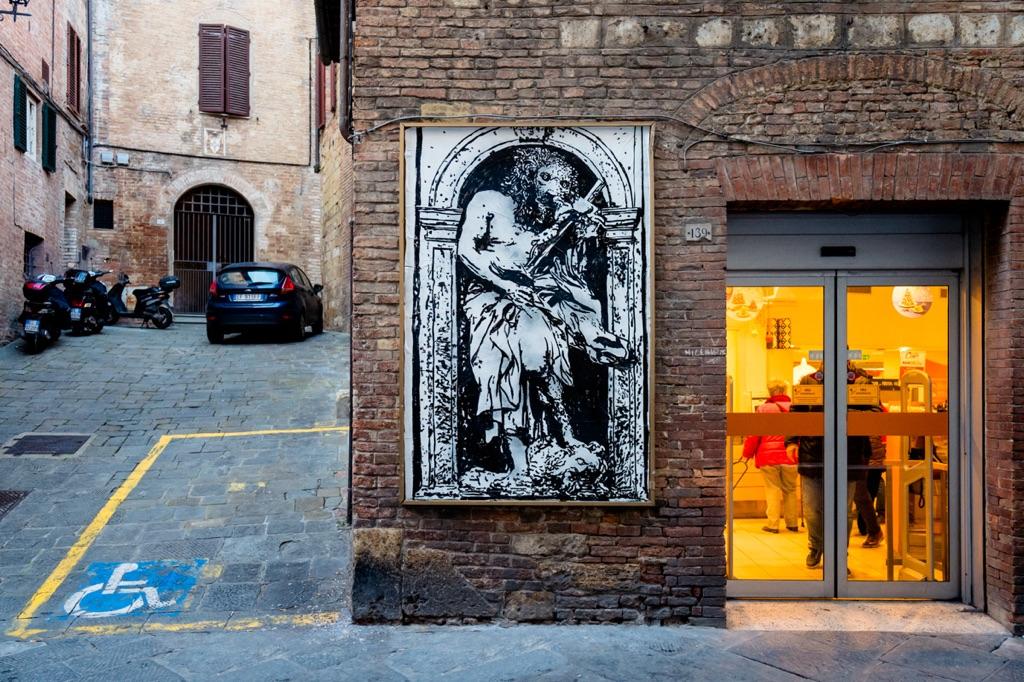 (A)-Round 1. Jacopo Pischedda per Gianlorenzo Bernini. Siena 2016