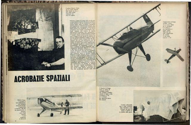 """Acrobazie spaziali, in """"Le Ore"""", 13 dicembre 1962"""