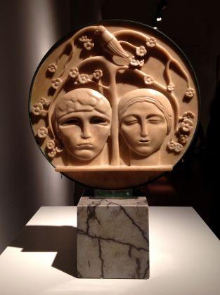 Adolfo Wildt, Humanitas, 1918, collezione privata, courtesy ED Gallery, Piacenza