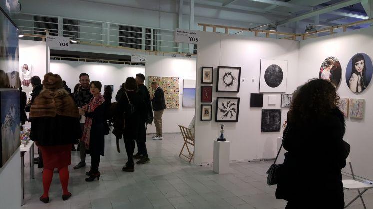 Affordable Art Fair, Milano 2017, exhibition view
