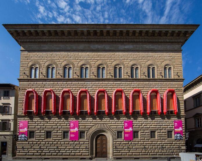 Ai Weiwei, Reframe, facciata di Palazzo Strozzi