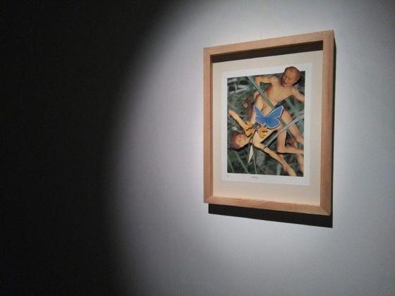 Alex Urso, Uno studio sul Giudizio Universale di Hans Memling. Exhibition vew at Istituto Italiano di Cultura, Cracovia 2017