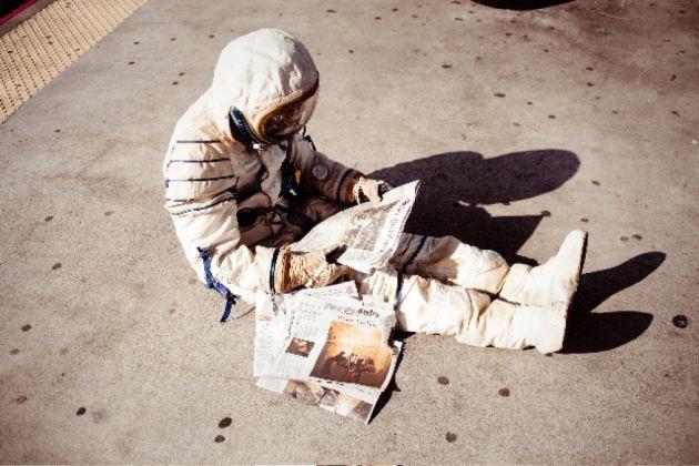 Alicia Framis, Lost Astronaut, 2009. Performance, Performa New York, 2009