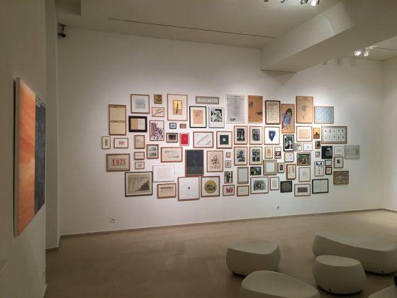 Alighiero Boetti, Tornabuoni Art, Parigi (foto Valentina Grandini)