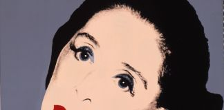 Andy Warhol, Commissioned Portraits. Martha Graham, anni '80