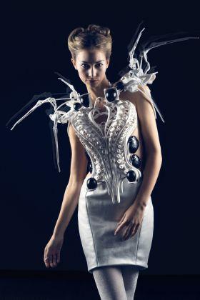 Anouk Wipprecht, Spider Dress 2.0, 2015 © Anouk Wipprecht, photo Jason Perry