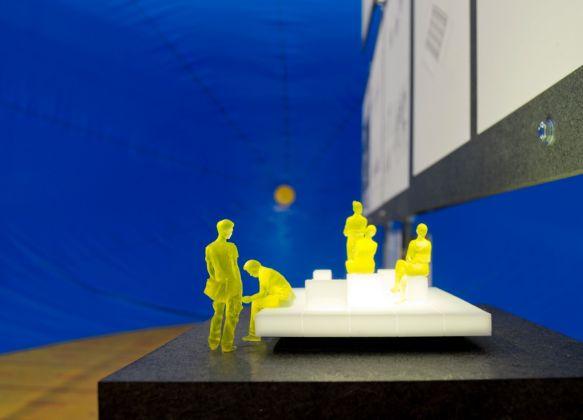 Architettura Invisibile. Exhibition view at Museo Carlo Bilotti, Roma 2017. Photo Anna Positano, Fabrizio Vatieri /Opfot.com