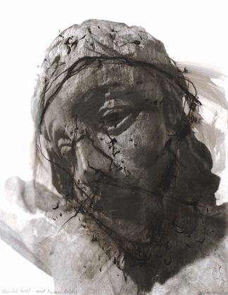 Arnulf Rainer, Christus Kopf, 1980. Courtesy of Andrea Scagliarini