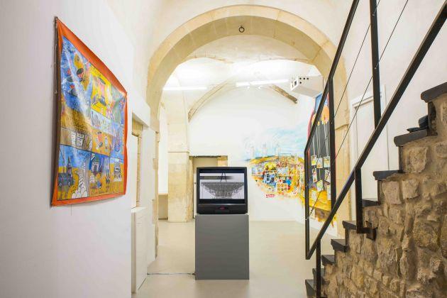 Artists Against MUOS, installation view at Laveronica arte contemporanea, 2017, ph. Francesco Di Giovanni 3