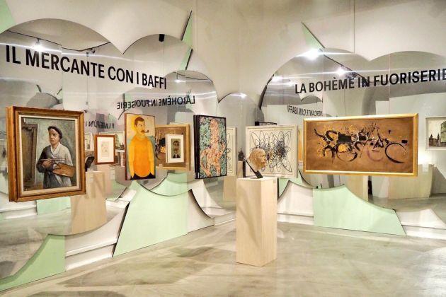 BOOM 60! Era Arte moderna. Allestimento a cura di Atelier Mendini, Museo del Novecento, Milano 2017. Photo ©Stefano Bonomelli