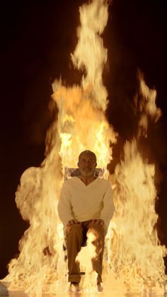 Bill Viola The Martyrs (Earth, Air, Fire, Water), 2014. Courtesy Bill Viola Studio