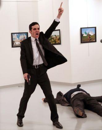 Burhan Ozbilici, An Assassination in Turkey (AP Photo/Burhan Ozbilici)