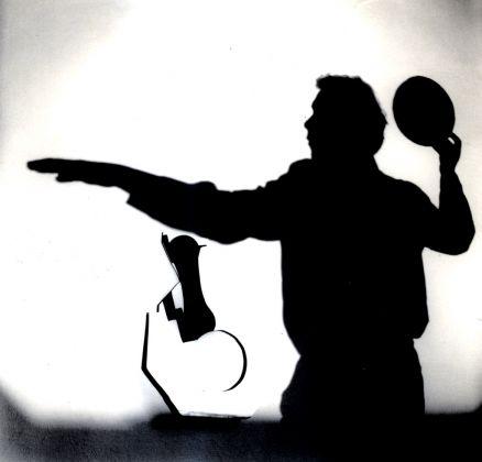 Carlo Cantini, Remo Salvadori nello studio di via Santo Spirito a Firenze, 1974