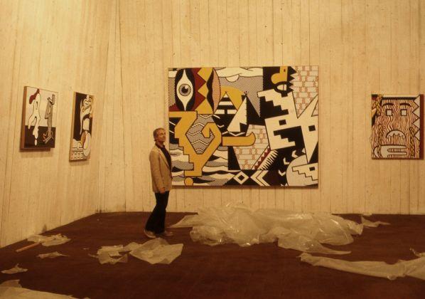 Carlo Cantini, Roy Lichtenstein a Orsanmichele