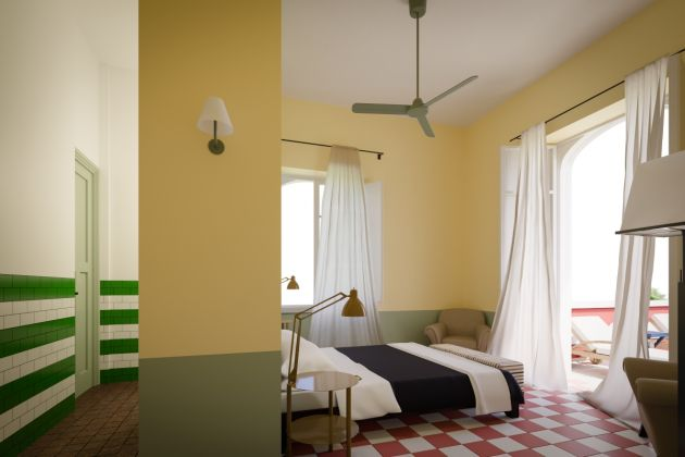 Casa Cantoniera Sabini (Altamura), render, © ANAS