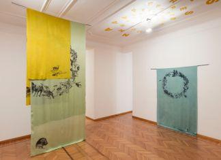 Claudia Losi, Asking Shelter. Exhibition view at Galleria Monica De Cardenas, Milano 2017