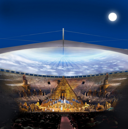 Copertura dell'Arena di Verona, il progetto di RTI capogruppo Vincenzo Latina (Siracusa)