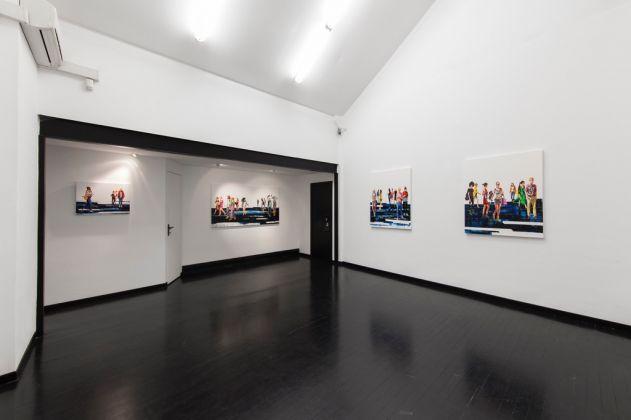 Corrado Zeni, Icons. Exhibition view at Galleria Pack, Milano 2017