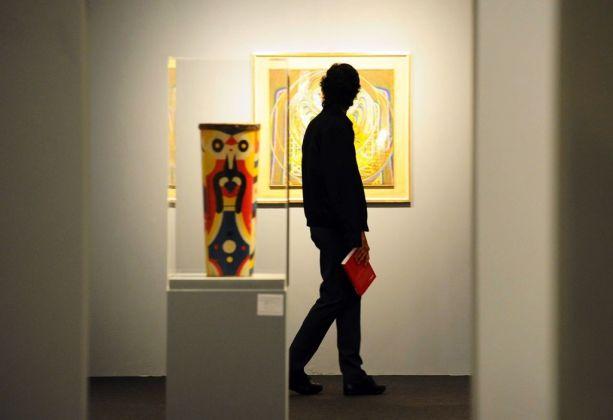 Dada 1916. La nascita dell'antiarte. Exhibition view at Museo di Santa Giulia, Brescia 2017
