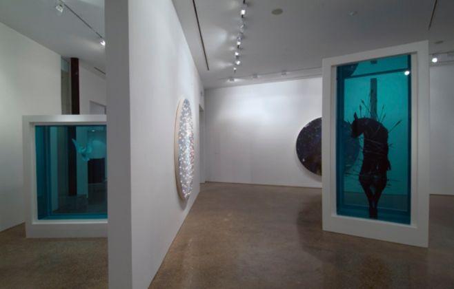 Damien Hirst. Installation view at Goss Gallery, Dallas