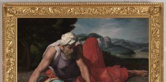 Daniele da Volterra, Elia nel deserto, 1543 ca., olio su tela, cm 81 x 115, Collezione privata