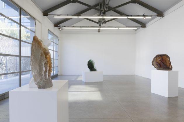 Diego Perrone, Herbivorous Carnivorous. Exhibition view at Galleria Massimo De Carlo, Milano 2017