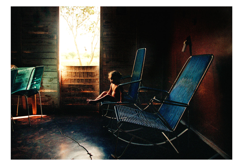 Ernesto Bazan, Little girl on a rocking chair