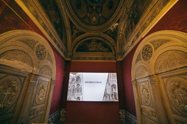Escher. Exhibition view at Palacio de Gaviria, Madrid 2017