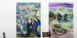 Exhibition paintings, Merano Arte (foto Ivo Corrà)