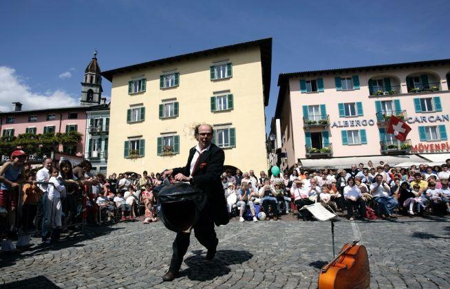 Festival Artisti di Strada, Locarno. Photo Remy Steinegger © Ticino Turismo