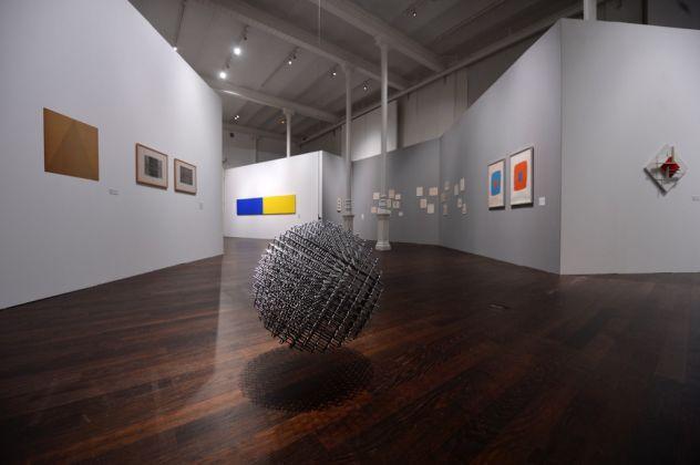 François Morellet et ses amies. Exhibition view at Musée des Beaux-Arts, Chambéry 2017