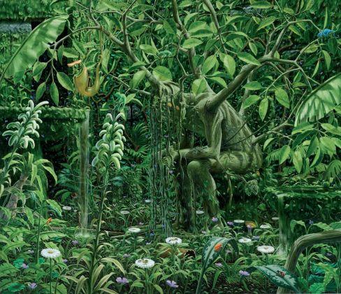 Fulvio Di Piazza, Ficus, 2003, olio su tela, 170x200 cm