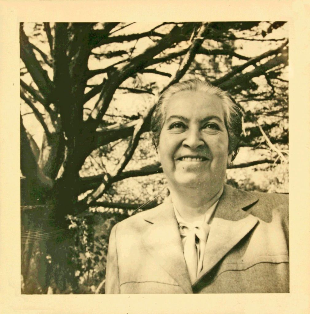 Gabriela Mistral. Ph. Fundacion La Fuente