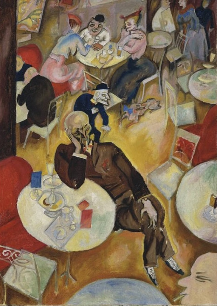 George Grosz, Cafe, 1919