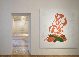 Gianfranco Baruchello, Greenhouse. Exhibition view at Galleria Massimo De Carlo, Milano 2017