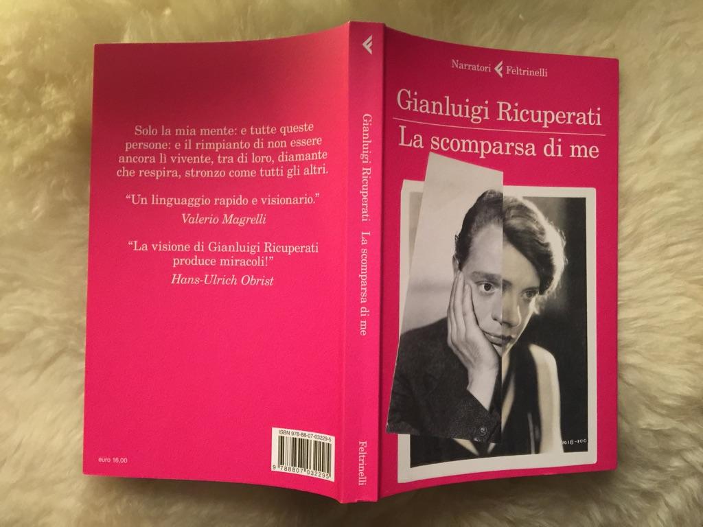 Gianluigi Ricuperati, La scomparsa di me (Feltrinelli)