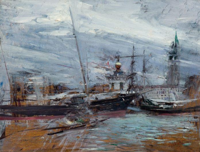 Giovanni Boldini, Venezia, Punta della Dogana
