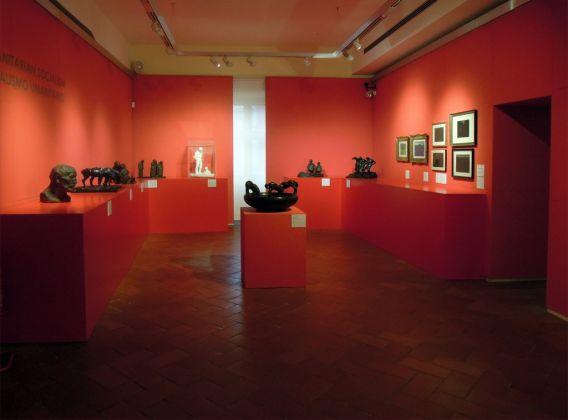 Giovanni Prini, Il potere del sentimento. Exhibition view at Galleria d'Arte Moderna, Roma 2017